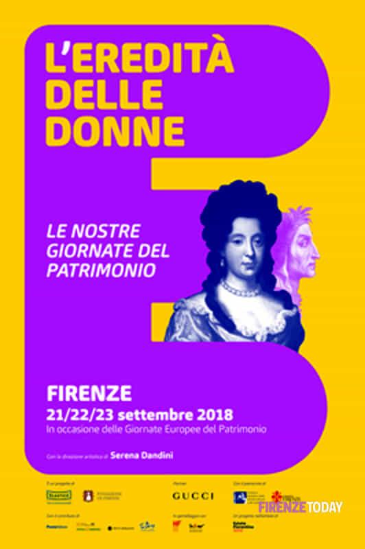 L'eredità delle Donne - Le nostre giornate del Patrimonio 21 - 23 settembre 2018